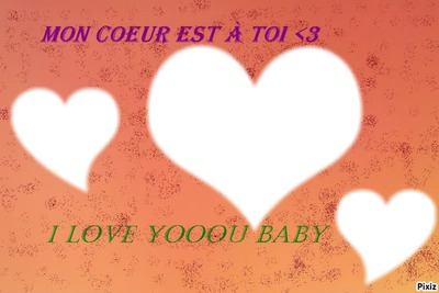 Je t'aime Baby <3