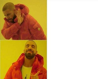 Risultati immagini per drake meme