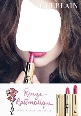 Guerlain Rouge Automatique Lipstick Advertising