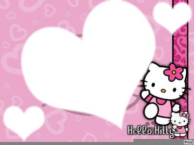 fond'écrans hello kitty + 3 photo