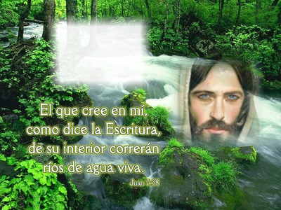Fotomontage Rios De Agua Viva 2 Pixiz