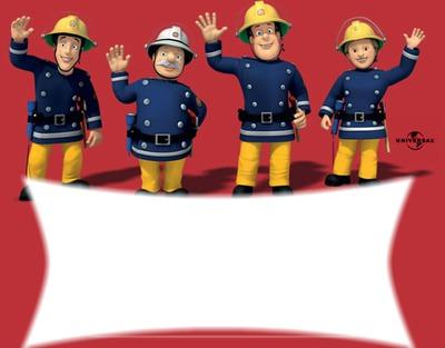 Montage photo sam le pompier pixiz - Sam le pompier noel ...