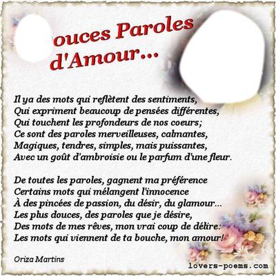 Montage Photo Paroles D Amour Pixiz