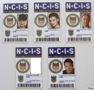 Badge NCIS <3