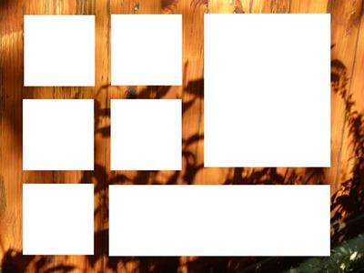 cadre bois 7 photos
