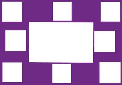 Collage Rahmen 9 Bilder
