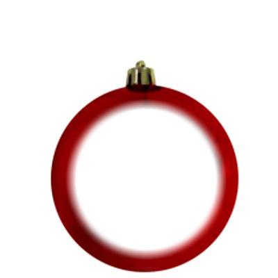 bola de natal vermelha