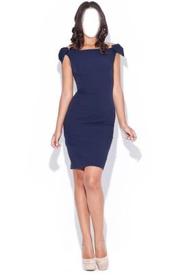 robe bleu 3