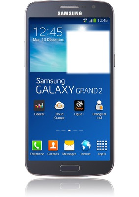 Samsung Galaxy Grand 2 bleu