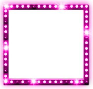 Quadro com Glitter Rosa