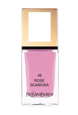 Yves Saint Laurent La Laque Couture Nail Lacquer in Rose Scabiosa
