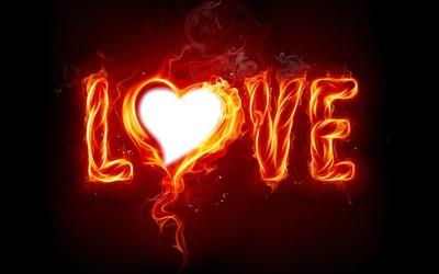 love en flamme