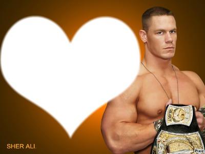 Photo montage john cena avec Pixiz – John Cena Birthday Card