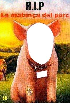 Cerdo Manteca Italia RIP