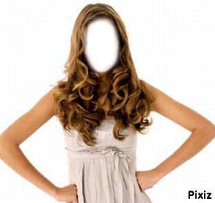 fille cheveux bouclé