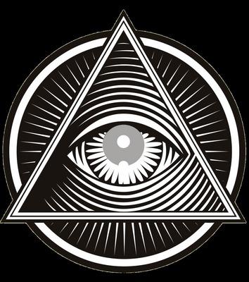 pirâmide com olho / pyramid with eye