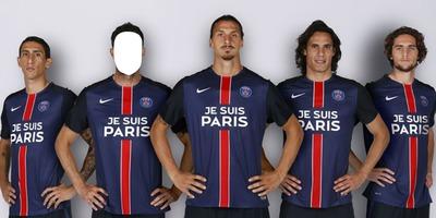 PSG Je suis Paris 2