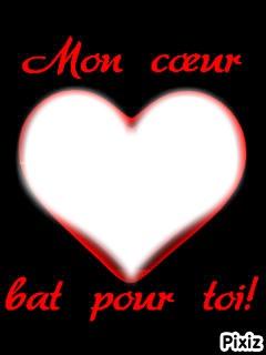 Mon coeur bat pour toi !!!!!