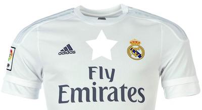 Montaje camiseta Real Madrid - IMAGENESFUTBOL.com