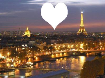Fotomontaggio Paris Ville De L Amour 3 Pixiz