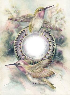 Beautiful Hummingbirds