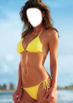 bikini yellow
