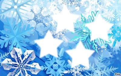 étoilles de neige