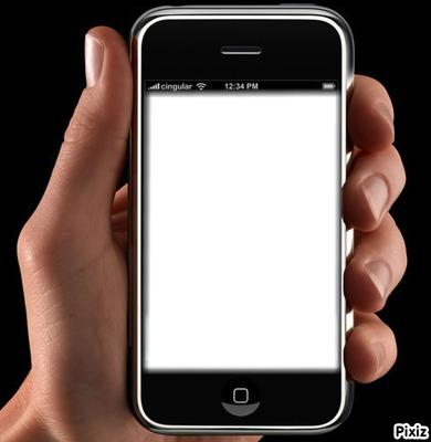 phone hand