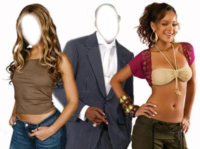 Jayz et  Beyoncé avec Rihanna c vous les stars  !♥♥