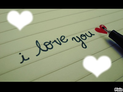 i love you ♥