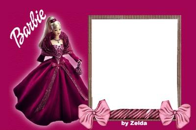 Montage Photo Carte Invitation Barbie Pixiz