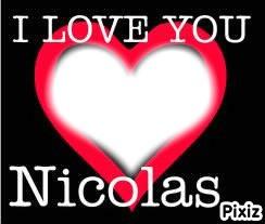 i love you nicolas