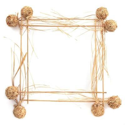 Box shaped photo frame