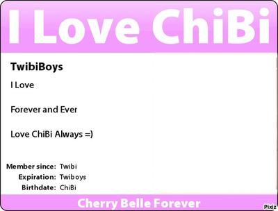 ChiBi Card