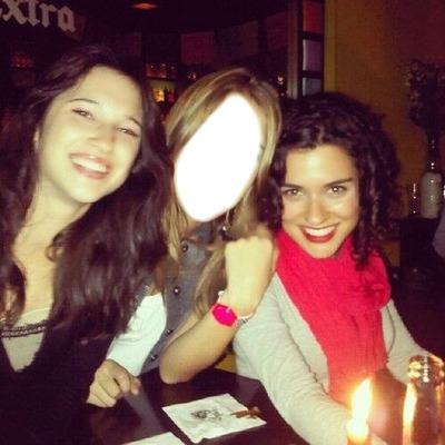 Sacate una foto con Alba y Lodo