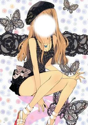 La fille manga