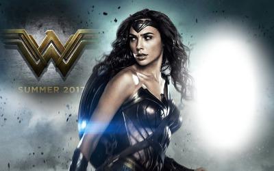 Montaje Fotografico Wonder Woman Wallpaper Pixiz