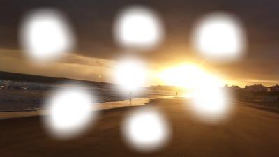 coucher du soleil sur Jard sur mer