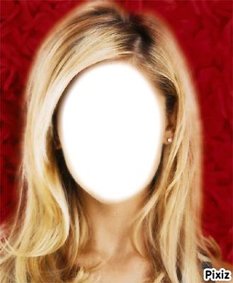 visage de blonde