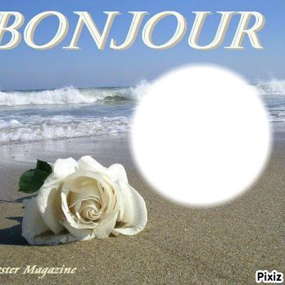 фотомонтаж Bonjour Pixiz