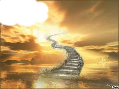 chemin vers les nuages