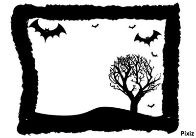 Halloween Noir et Blanc