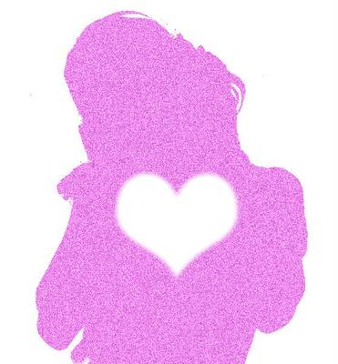 silueta de tini con corazon