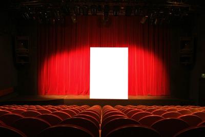 Photo montage theatre rideaux - Pixiz