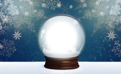 la boule de neige de noel 2017