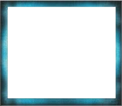 cadre rectangle bleu