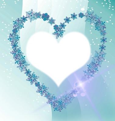 coeur flocons