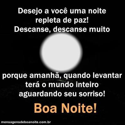 """Boa Noite!! By""""Maria Ribeiro"""""""