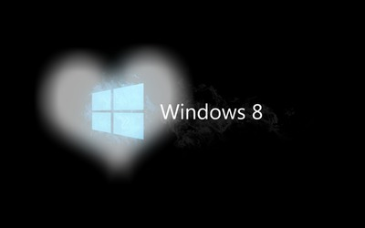 фотомонтаж Wallpaper Windows 8 Pixiz