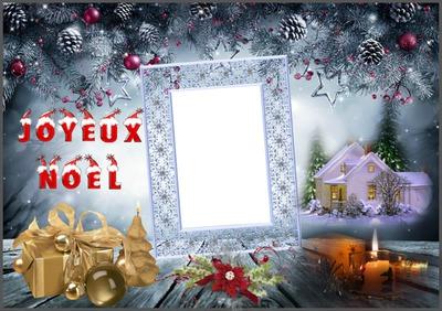 Montaje Fotografico Ma Créa Joyeux Noël Pixiz